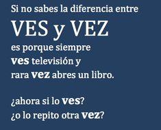 La diferencia entre VES y VEZ