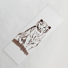 Approaching Tiger Yoga Mat