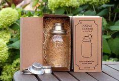 Hipster-Approved Mixology Supplies : mason jar cocktail