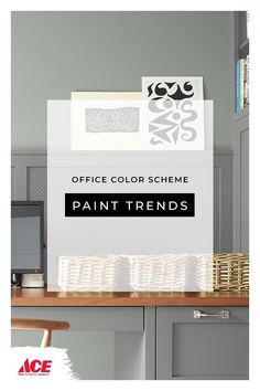 How to create a cool color palette with Benjamin Moore paint colors. Office Color Schemes, Modern Color Schemes, Modern Colors, Best Paint Colors, Interior Paint Colors, Cool Color Palette, Benjamin Moore Paint, Playroom Design, Ace Hardware