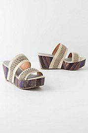 Cibola Wedges!!! Just order this from Antropologie. super cool