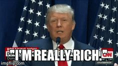 New trending GIF on Giphy. donald trump rich im really rich. Follow Me CooliPhone6Case on Twitter Facebook Google Instagram LinkedIn Blogger Tumblr Youtube