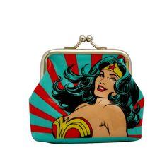 Porta Moedas Mulher Maravilha Rising Sun #Wonderwoman #MulherMaravilha