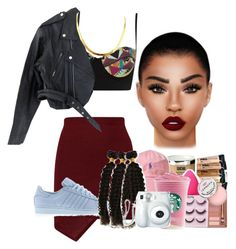 """""""Untitled #10"""" by cinirateixeira ❤ liked on Polyvore featuring Lime Crime, Playful Promises, Wilsons Leather and adidas"""