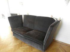 Exceptionnel Vintage Velvet Knowle Knoll Sofa