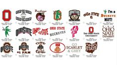 OHIO STATE Embroidery Machine Designs Instant by greenxmas on Etsy
