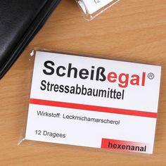 Kaugummi Stressabbaumittel - Scheißegal von hexenanal