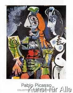 Pablo Picasso - Matador et femme nue