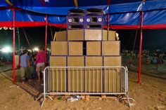 Stand High Patrol sound system (Brest, France).