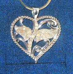 DIAMOND HEART Pendant .50 carats Nickel Free sterling silver CHRISTMAS #Unbranded #Pendant http://stores.ebay.com/JEWELRY-AND-GIFTS-BY-ALICE-AND-ANN