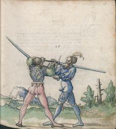 Title: Goliath (MS Germ.Quart.2020), Page: Folio 26r, Date: 1510-1520