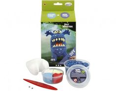 Monster Clay Modelling Gift Sets - Three Colours to Choose From   the littlecraftybugs company