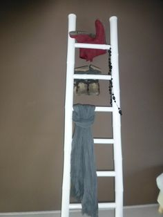 ... about deco ladder on Pinterest  Ladder, Decorative ladders and Van