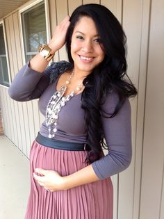 Glamour Glory: Pregnancy Style, Maternity Fashion Tips for a stylish pregnancy!