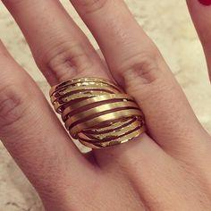 Bom final de semana!! #dalitzjoalheiros #anel #ouro #joias #parkshoppingbarigui #shoppingmueller #jewlery #gold