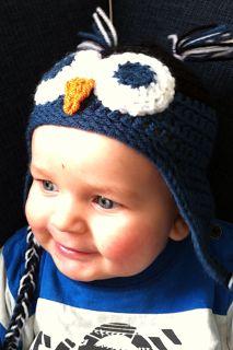 Deze uilenmuts heb ik gemaakt voor mijn zoontje  van 6 maanden oud. Hij is te maken in verschillende maten, van pasgeborene to...