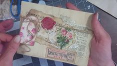 Vintage Envelopes Tutorial Project Share