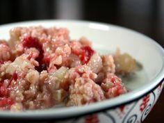 Applesauce Cranberry Oatmeal