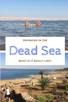 Swimming in the Dead Sea is an iconic, bucket-list moment. But what is it really like? I had the chance to find out when I visited Jordan. #deadsea #jordan #jordantravel #ammanbeach