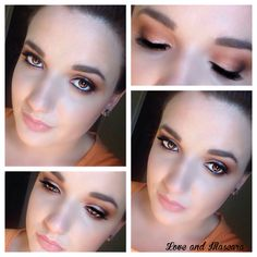 Warm Neutral Smokey Eye