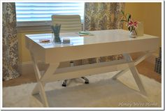 This desk would be perfect in my craft room ...gorgeous!