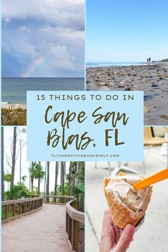 From enjoying the beach to horseback riding to visiting the local state park, here are 15 fun things to do in Cape San Blas Florida! Cape San Blas Tips | Florida Beaches | Places to Visit in Florida Florida Travel, Florida Beaches, Usa Travel, Travel Tips, Beach At Night, Beach Day, Cape San Blas Florida, Beach Place, Island Beach