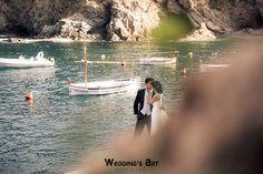 Wedding's Art   Fotografo de bodas. www.fotografo-bodas.net postboda-playa-mar-engagement-couple-love session-sea-love #postboda #playa #begur