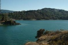 Lake Berryessa, CA.  Frequent picnics here while stationed at Travis AFB <3