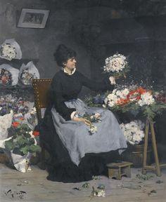 Gilbert, Victor - LaMarchan ||| Beauties ||| Sotheby's