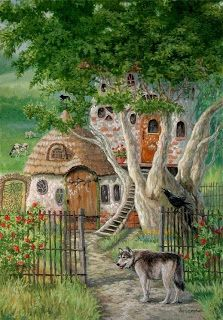 ABODE OF THE WOLF WATCHER BY JOY CAMPBELL