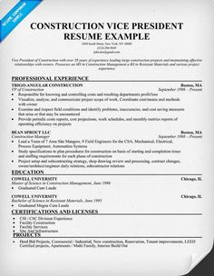 construction estimators resume sample resumecompanioncom - Sample Resume Construction Worker