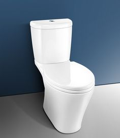 somerton smart 270 easy height elongated low flow toilet easy clean push button releases