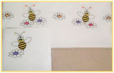 Another cutie is the bee set, also percale cotton, fits standard cot.  Really, really sweet... just like hone!!