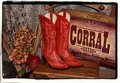 Red Corral Boots-Red Corral Boots