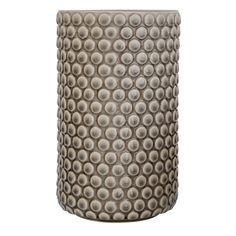 Bloomingville vase i grå med bobbel effekt