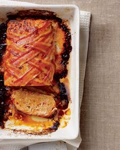 Turkey Meat Loaf - Rachael Ray Every Day