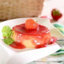 Découvrez la recette de Crème renversée aux fraises (Micro-ondes), Dessert à réaliser facilement à la maison pour 4 personnes avec tous les ingrédients nécessaires et les différentes étapes de préparation. Régalez-vous sur Recettes.net
