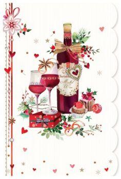 Lynn Horrabin - Screen Shot at Christmas Clipart, Noel Christmas, Vintage Christmas Cards, Christmas Printables, Christmas Pictures, Xmas Cards, Vintage Cards, Christmas And New Year, All Things Christmas