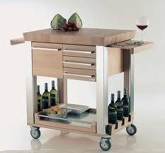 carrello-cucina-in-legno-massiccio-h8237 | Carrelli da cucina ...