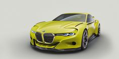 BMW 3.0 CSL Hommage Concept—Official Photos  - RoadandTrack.com