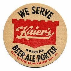 Typeverything.com - Vintage beer coasters #1.... - Typeverything