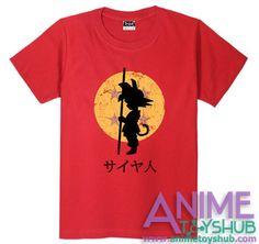 9f68a128 Son Goku dragonball t-shirt
