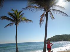Afternoon walk in Haiti, absolutely loved it there. So beautiful, palm trees and ocean are just stunning.