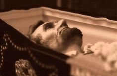President Lincoln, lying in state....