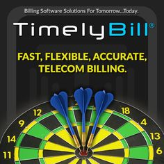 TimelyBill helps companies hit the mark with fast, flexible & accurate telecom billing. Revenue Management, Unified Communications, Tomorrow Today, Cloud Based, Flexibility, Software, Back Walkover