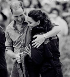 the happy couple. Prince William and Catherine Duchess of Cambridge, aka Kate Middleton