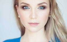 Natural+makeup+for+blue-eyed+blondes+::+one1lady.com+::+#makeup+#eyes+#eyemakeup+