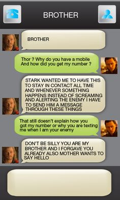 Thor gets a phone (The really bad thing about this is I just tried to respond. It took me to a Tumblr page. Dammit.)