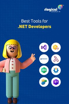 Let's start to know here 8 Best Tools for .NET Developers that help you to build build a wide range of applications. #rlogical #dotnetframeworks #dotnetdevelopers #application #dotnettools #visualstudio #aspdotnetevelopers #dotNETReflector #dotConnectOracle #EntityDeveloper #HireASPNETDevelopers #LINQPad #NCrunch #NDepend #SQLComplete #buildwebapp #buildmobileapp Trump Card, App Development, Mobile App, Range, Tools, Cookers, Instruments, Mobile Applications