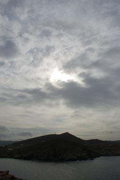 paros agios ioannis detis park Paros, Clouds, Celestial, Mountains, Sunset, Nature, Travel, Outdoor, Outdoors